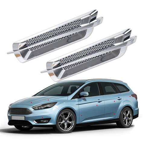 Special Produk Pistol Air Mainan Ukuran Jumbo car side air vent fender cover intake duct flow grille decoration sticker intl lazada