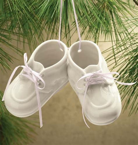 baby booties ornament baby bootie christmas ornament