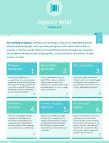 marketing brief template template agency brief b2b marketing