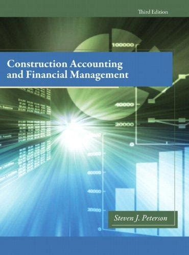 Financial Management Textbooks Mba by Construction Accounting Financial Management 3rd