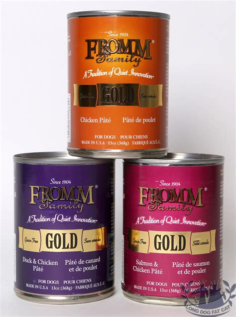 fromm canned food fromm gold canned food