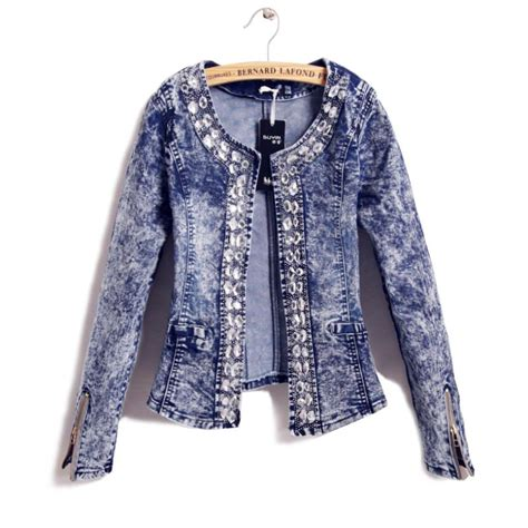 Match Studded aliexpress buy jacket 2014 o neck slim