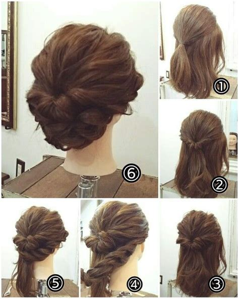 casual chignon hairstyles 380 best images about peinados on pinterest