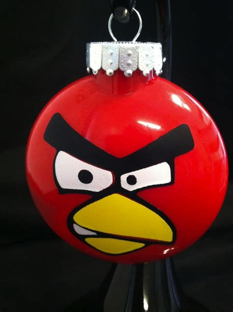 angry birds ornament make for a thrilling christmas decor