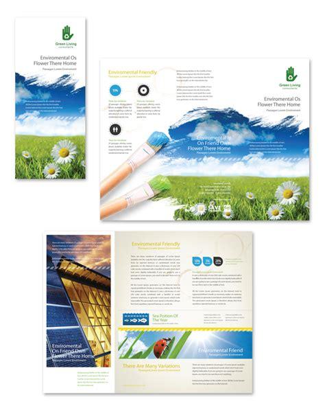 brochure template environmental environmental groups tri fold brochure template