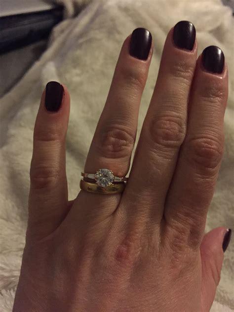 91 wedding ring tight ring tight and snug stuck