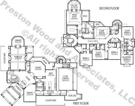 luxury sle floor plans 2 story home new home plans design two story home plan ac5030 ѧ ʀ c н pinterest