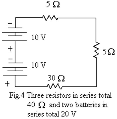 three 20 ohm resistors are connected in series across a 120 v generator elementary theory of electricity magnetism