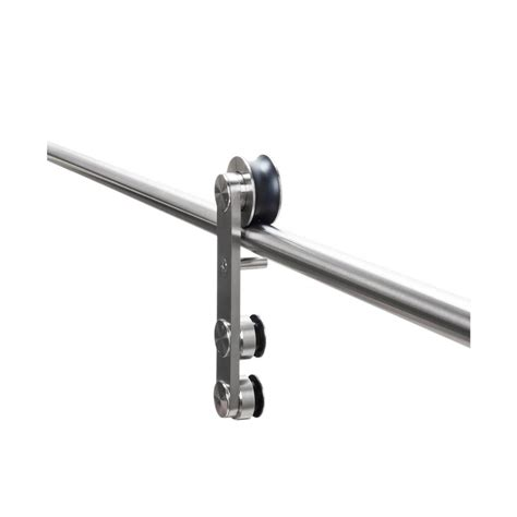 American Pro Decor Stainless Steel Sliding Rolling Barn Rolling Barn Door Hardware Kit