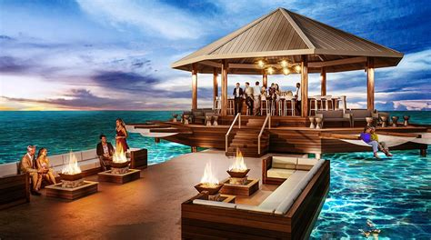 sandals south coast opens booking on overwater bungalows sandals launches south coast resort in jamaica