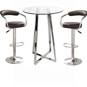 Bar Stool Tables Poseur Glass Top Bar Table With 4 Zenith Bar Stools 10