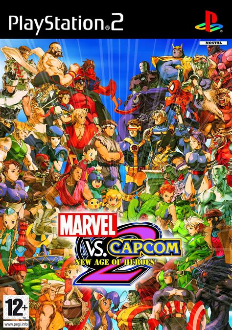 marvel vs capcom 2 marvel vs capcom 2 n coverart by nostal on deviantart