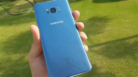 Samsung S8 Blue Coral samsung galaxy s8 plus coral blue on