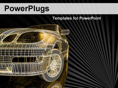 free car powerpoint templates vehicle powerpoint template free filecloudei