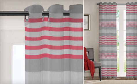 lauren taylor curtains 34 for a set of lauren taylor calvin striped panel