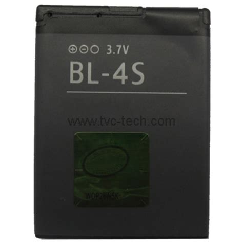 Baterai Bl 4s Bl 4s Nokia 7610s 7610 Supernova 3710f 3710 Fold Lf cell phone bl 4s battery for nokia x3 02 2680s 3600s 7020 6208c 3710 7100 7610 supernova