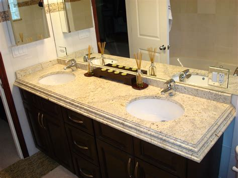 Bathroom Countertop Ideas by Charming Bathroom Granite Countertops Ideas With Granite