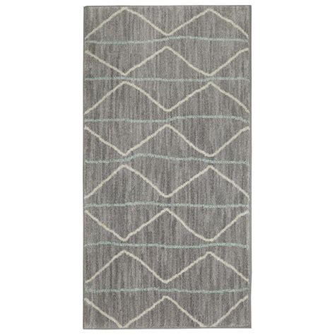 jeff lewis rugs jeff lewis spencer slate 2 ft x 4 ft area rug 497859 the home depot