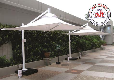 Rumah Dapur Payung Terbalik C Handle Pemandangan jual tenda payung tension harga murah jakarta oleh aji tent