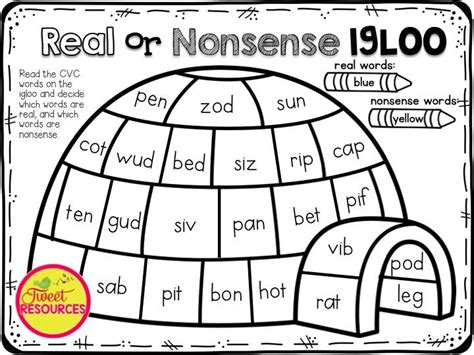 printable nonsense word games 389 best images about learning centers on pinterest cut