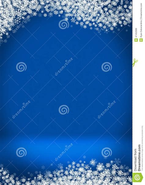 birthday card template winter happy holidays blank winter background stock illustration