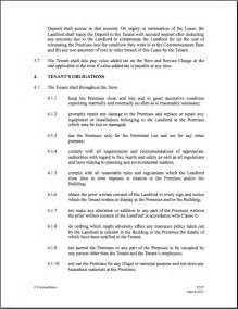 commercial property licence agreement template