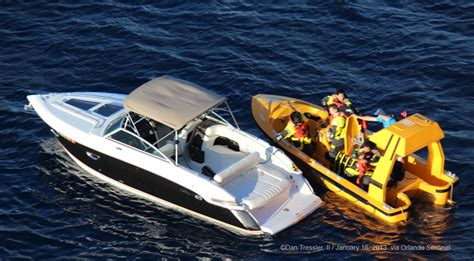 dream boat series disney dream rescues 2 stranded boaters in the bahamas