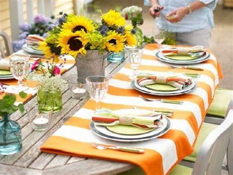 tavole apparecchiate in giardino come apparecchiare la tavola in estate spunti originali