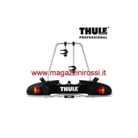 porta biciclette auto porta biciclette per gancio traino thule europower 916