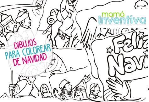 imagenes de niños navidad para colorear dibujos de navidad para colorear mama inventiva