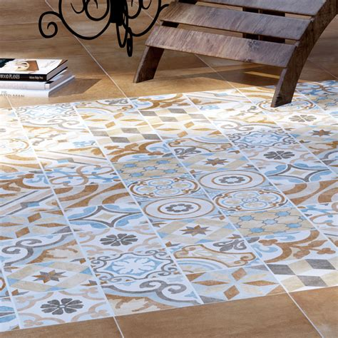 brown patterned floor tiles carmona porcelain patterned wall and floor tiles 300 x