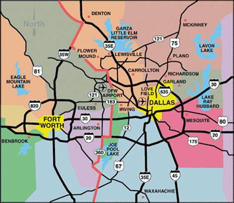 printable map dallas fort worth metroplex zip code map dallas metroplex pictures to pin on pinterest