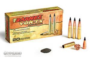 Barnes Vor Tx 308 Barnes Vor Tx 300 Blackout Tac Tx Ammo Review Guns Amp Ammo