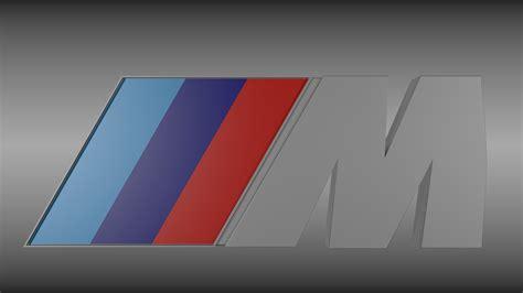 logo bmw m bmw m logo 3d model obj blend cgtrader com