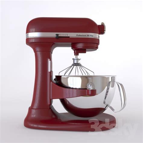 3d models kitchen appliance mixer kitchenaid