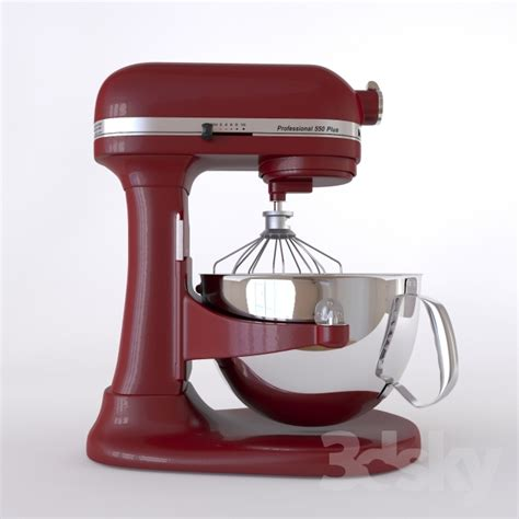 3d models: Kitchen appliance   Mixer KitchenAid