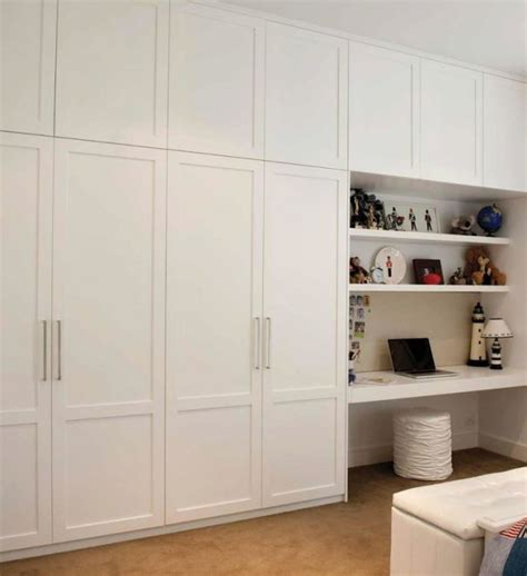 built in wardrobe and desk academic wardrobes 8