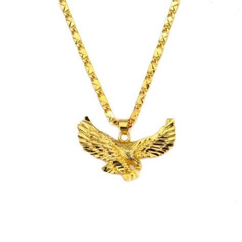 new fashion necklace wholesale free shipping 24k gold