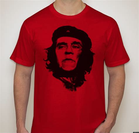Kaos Chie Guevara Black Edition che leno shirts bring leno and che guevara together