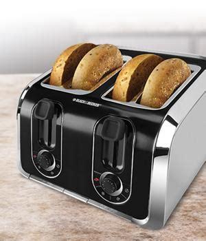 Black Decker Tr1400sb 4 Slice Stainless Steel Toaster Black Decker Tr1400sb 4 Slice Toaster Bagel Toaster
