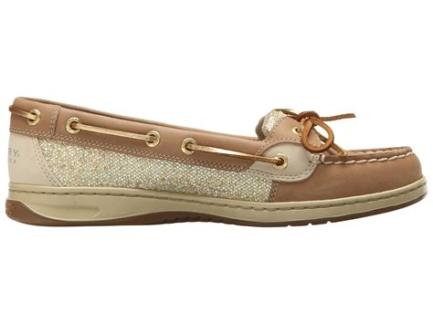 Eye Gold Shoes sperry top sider angelfish 2 eye glitter in lyst