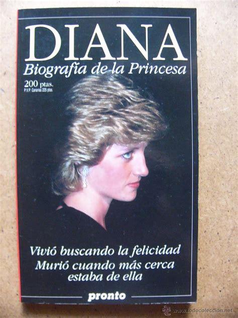 libro pronto pronti libro diana lady di biografia de la princesa comprar libros de biograf 237 as en todocoleccion
