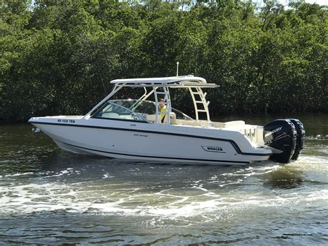 dual console boats boston whaler dual console boats for sale boats