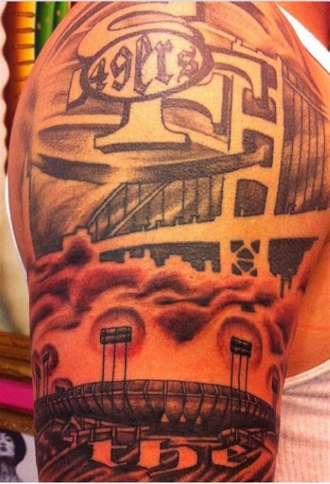 49ers tattoos 84 best images about 49er tattoos on fan