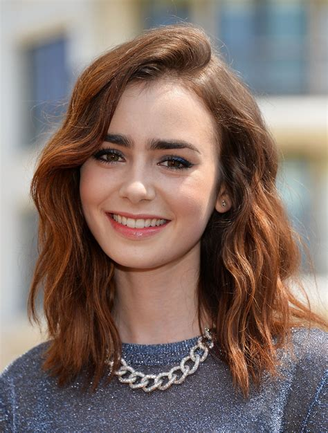 lily collins 12 best hair looks styleicons