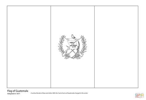 Guatemala Flag Coloring Page 301 moved permanently
