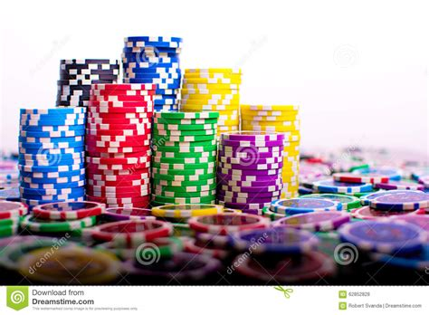 The Playroom Trophies by Poker Chips Stock Photo Image 62852828