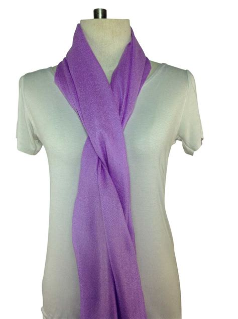 a special deal on a beautiful lavender pashmina scarf