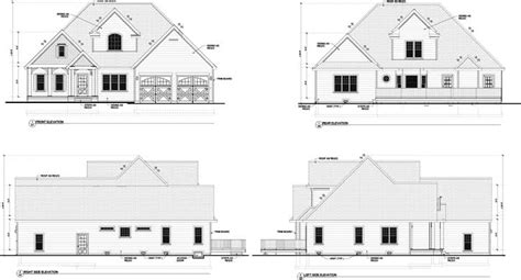 how tall is a 2 story house craftsman style house plans 2363 square foot home 2