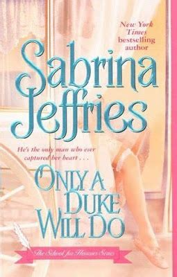 Only A Duke Will Do Sabrina Jeffries how many books does a person read in a lifetime december 2007